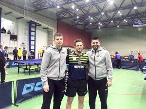 CS Mioveni şi CS Pristavu, în semifinalele Superligii tenis de masă