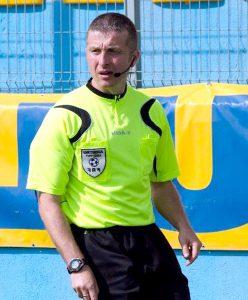 Arbitrul Gabriel Stroe, excelent la meciul Hermannstadt-FCSB