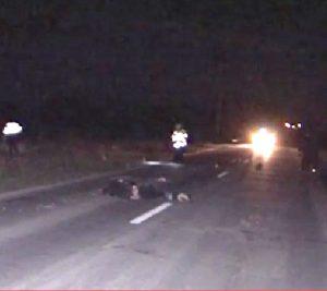 Morţi în accidente rutiere