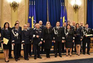 Combaterea Crimei Organizate Piteşti a primit Placheta de Onoare