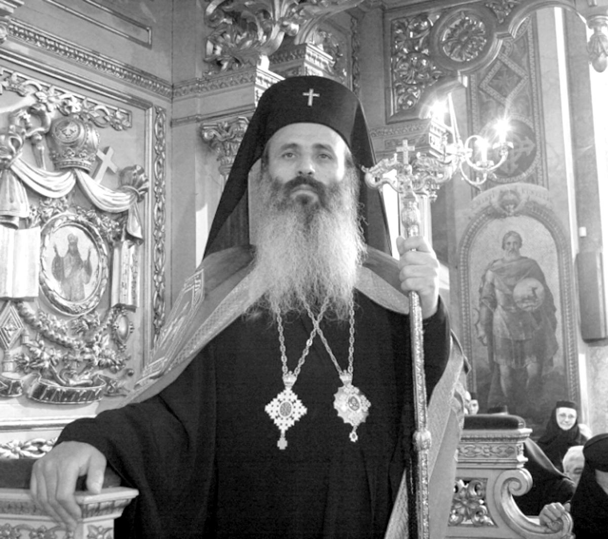 ÎPS Teofan al Moldovei l-a binecuvântat pe părintele Onu