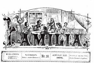 """Revista """"Familia"""", din aprilie,1876, unde apare prima menţiune despre """"Argeşul"""""""