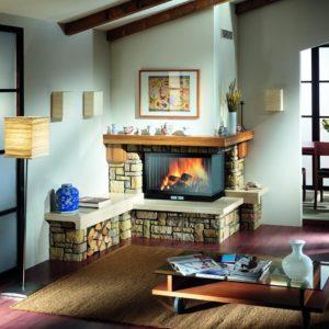 Termo-șemineul – combinație între confort și economisire!