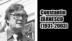 Constantin Zarnescu, o valoare insuficient preţuită