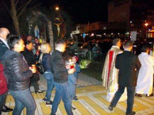 Incidente la Biserica Romano-Catolică din Piteşti, noaptea trecută. Poliţia, chemată să intervină