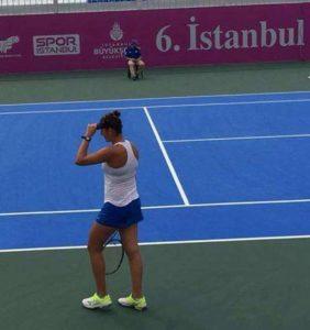 Ilona Ghioroaie, pe terenul de la Istanbul