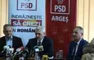 Rezultatele vizitei la ceas de seară a dlui Liviu Dragnea la Piteşti: vorbe, vorbe, vorbe