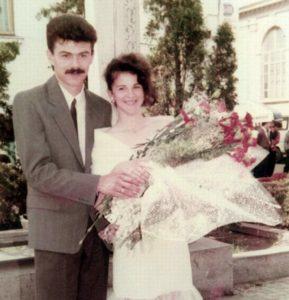 Soţii Radu, acum 25 de ani....