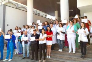 Grevă spontană la Centrul de Îngrijire şi Asistenţă Socială de la Spitalul Judeţean Argeş