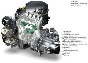 Motor Dacia 1,6 litri, care merge cu bioetanol