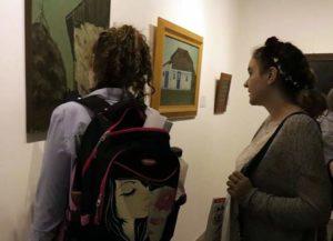 Colecţia de tablouri Simion Săpunaru, expusă la Galeriile Ilfoveanu din Piteşti