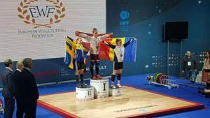 Maria-Luana Grigoriu, o adolescentă din Leordeni, bronz la Campionatele Europene de haltere senioare