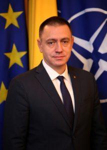 Mihai Fifor, ministrul Apărării Naţionale