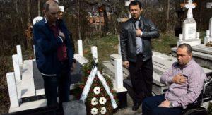 Militarul argeșean Dragoş Alexandrescu, ucis în Afganistan, comemorat în ajunul Învierii