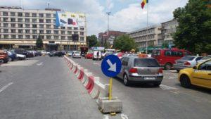Primăria Piteşti face gard în jurul hotelului