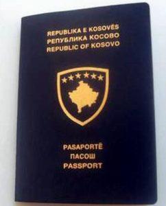 """Aşa arată un """"paşaport"""" emis de autorităţile """"statului"""" Kosovo"""