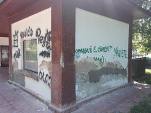 Au apărut primele semne ale degradării în Ştrand