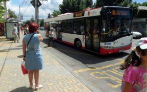 Program special al autobuzelor la Piteşti