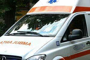 Șofer de ambulanța prins băut la volan
