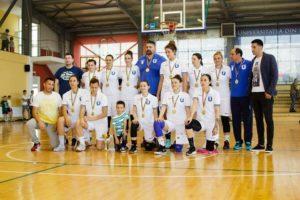 Echipa Universităţii Piteşti, campioană naţională universitară la baschet fete