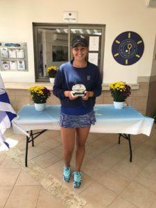 Ilona Ghioroaie a intrat printre primele 400 de jucătoare de tenis de câmp ale lumii