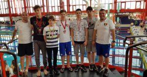 Înotătorii argeşeni, la Campionatele Internaţionale ale României