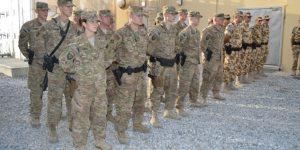 Şapte dintre cei opt militari musceleni răniţi în Afganistan au ieşit din spital. Al optulea, transferat în Germania