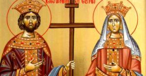 La mulţi ani fericiţi de Sfinţii Constantin şi Elena!