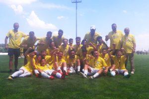 CS Sporting Piteşti, noua campioană