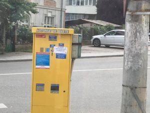 Automatele de bilete ale Publitrans: ba lipsesc, ba au hachiţe