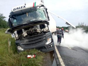 Două accidente produse pe acelaşi drum