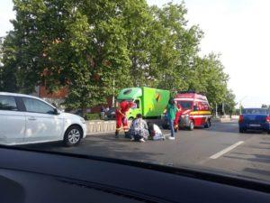 ACUM: Accident în cartierul Trivale - Copil lovit pe marcaj