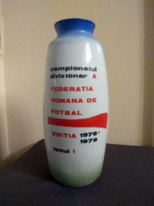 Exponatul lunii - Cupa României, în vitrina muzeului