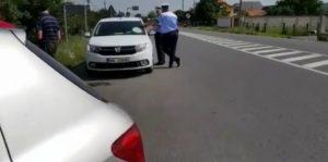 Elev la şcoala de şoferi, prins cu 122 km/h
