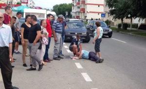 A leşinat pe stradă