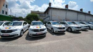 Maşini noi pentru poliţia judeţeană