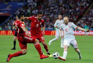 Spania, victorie chinuită cu Iran, scor 1-0