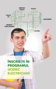 Dacă ai terminat clasa a VIII-a şi te gândeşti la următoarea etapă din viaţa ta, generaţia de electricieni a viitorului te aşteaptă în cadrul programului Ucenic Electrician!