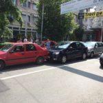 Accident în lanţ pe Bd. Republicii