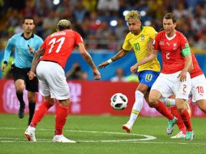 Surprize, surprize la Mondialul de fotbal: Brazilia nu izbuteşte să bată Elveţia, scor final 1-1