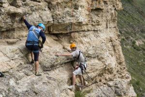 Concurs de escaladă în Argeş, la cheile Dâmbovicioarei