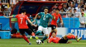 Cea mai mare ruşine din istoria fotbalului nemţesc: Germania-Coreea de Sud 0-2