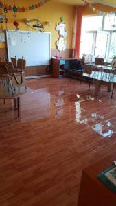 Grădiniţă inundată la Piteşti