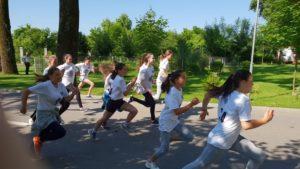 Campionii bucuriei în Parcul Lunca Argeşului