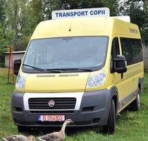 Microbuz şcolar, fără ITP!
