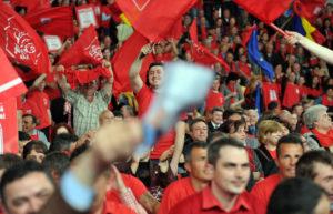 Peste 2.000 de argeşeni, la un miting PSD în Bucureşti