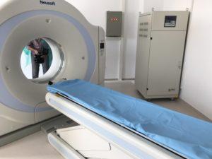 Computerul Tomograf de la Pediatrie, dat în funcţiune
