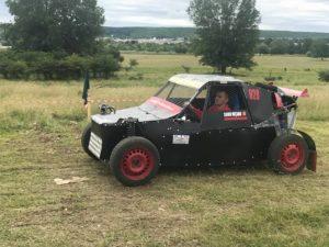 Zeci de concurenţi la etapa de Rallycross