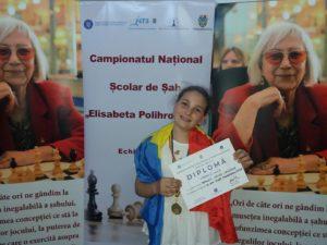 Erika Toculeţ, campioană naţională de şah